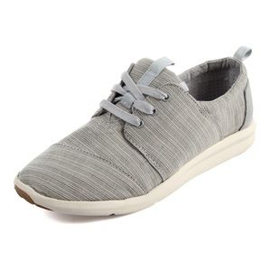 Toms Del Ray Woven Lace Up Sneakers size 7